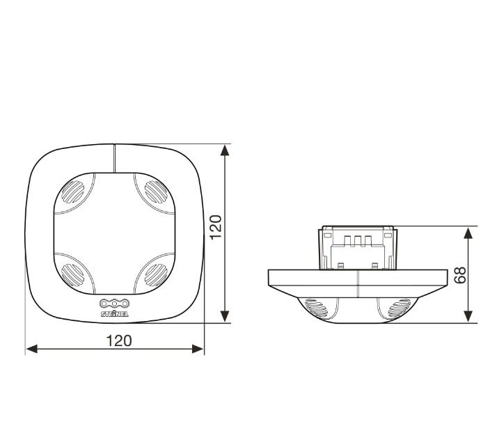 Måttskiss Control Pro US360