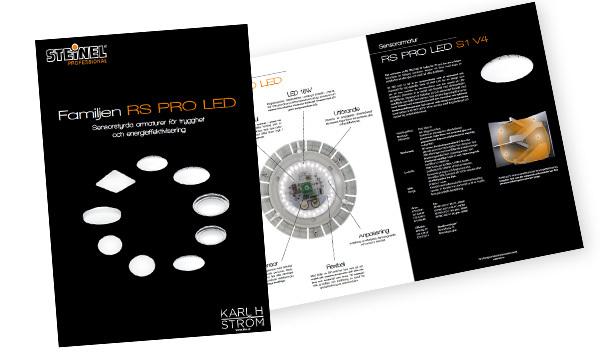 Ny broschyr - Familjen RS PRO LED