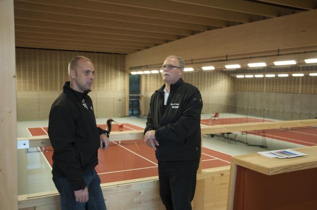 Dynacon Construction AB som byggt Södra Climate Arena