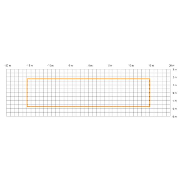 detektering radiellt och tangentiellt för IS 345 MX