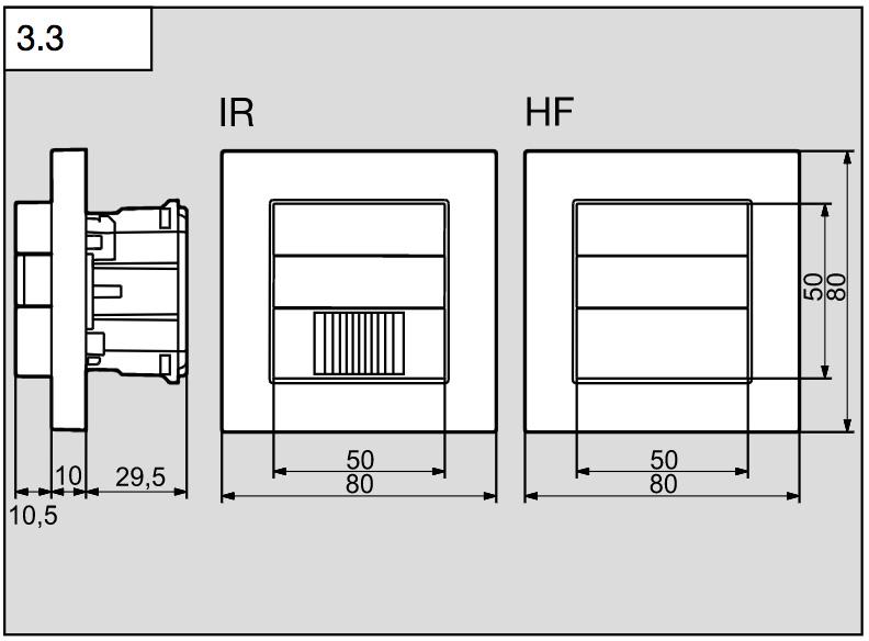 Måttskiss HF180