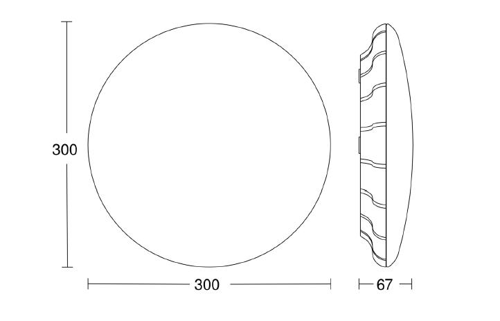 Nödljus-sensorarmatur RS PRO LED B1 V5