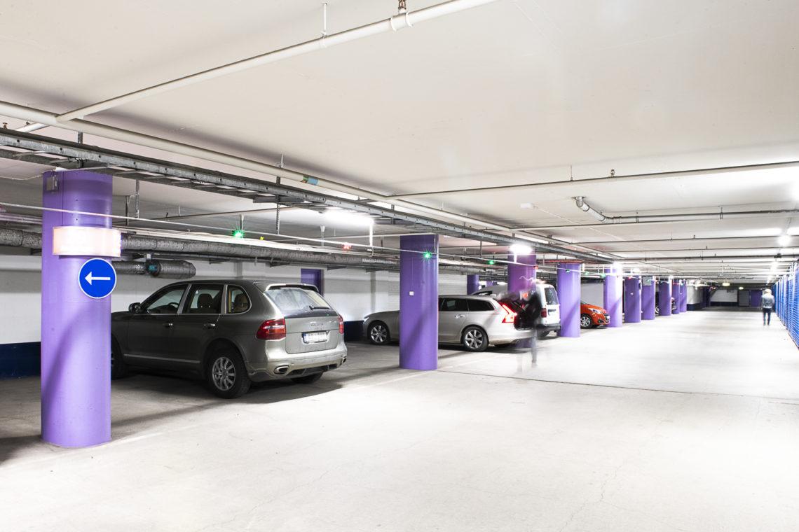 Globen Garaget, Stockholm