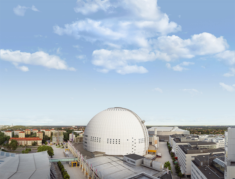 Globen Garaget i Stockholm