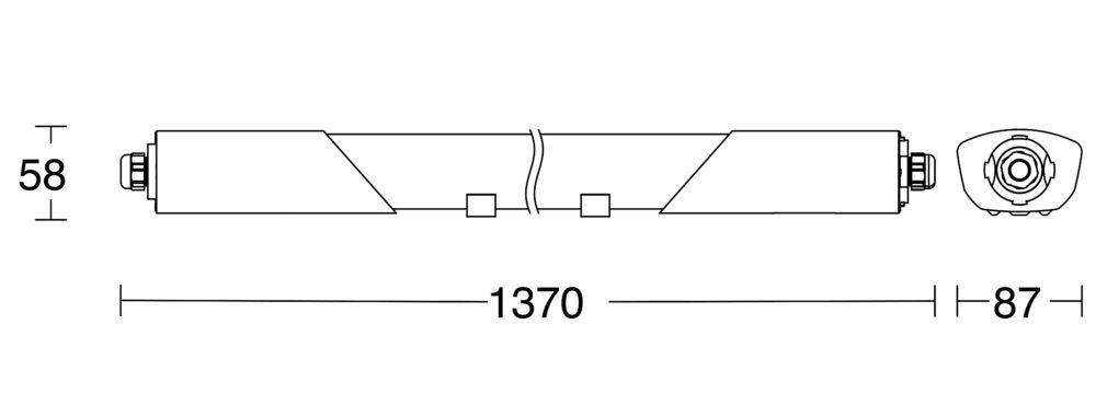 Sensorarmatur Connect 5100 V2 mattskiss