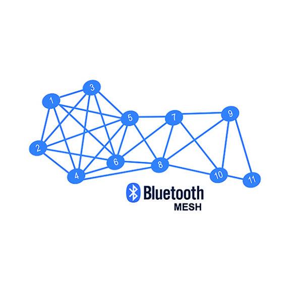 Strålkastarna sammankopplas med varandra via Bluetooth