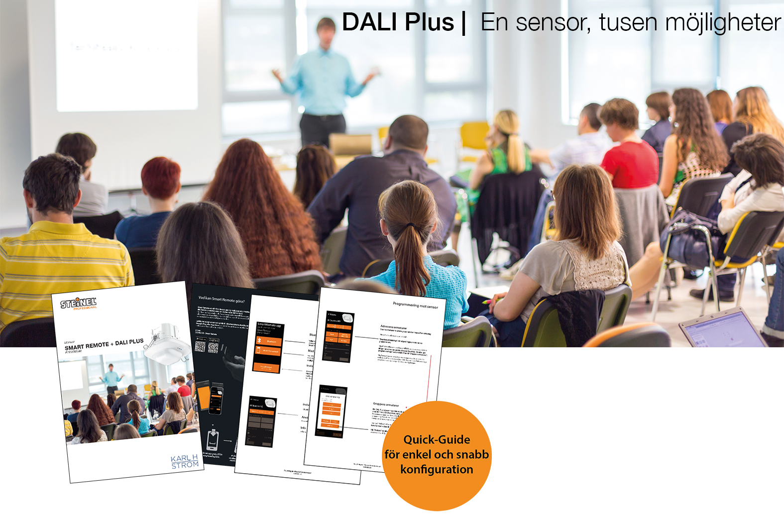 DALI Plus support sida