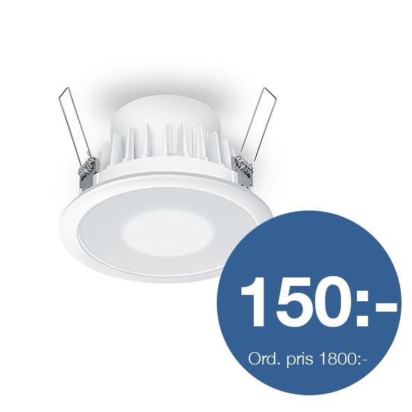 RS PRO DL LED 15W, sensor, 4000K