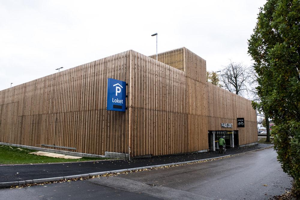 Parkeringshuset Loket, Katrineholm