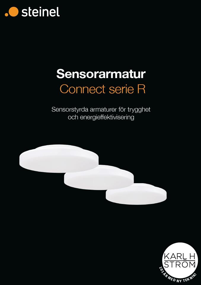 Broschyr Sensorarmatur Connect serie R