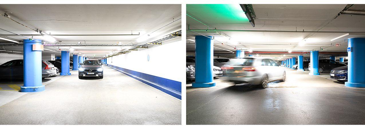 Globen garaget