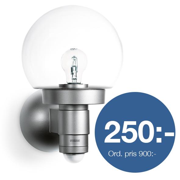Sensorlampa L115 silver