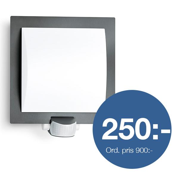 Sensorlampa L20 antracit