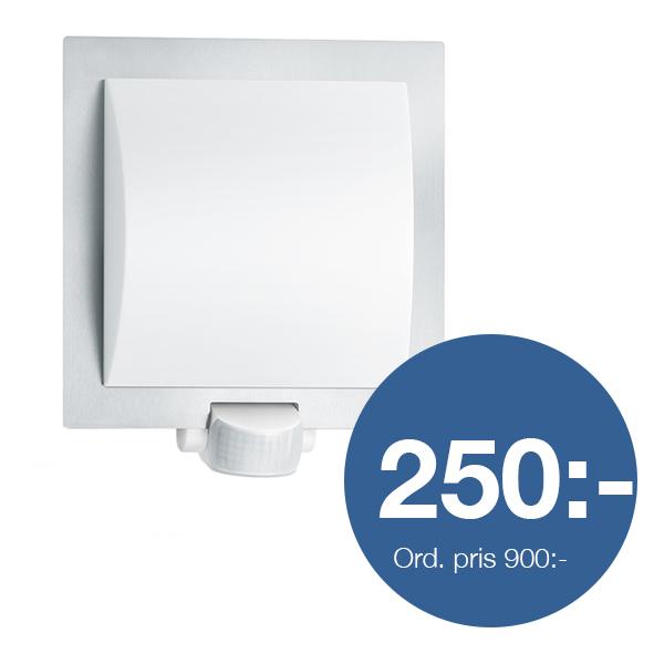 Sensorlampa L20 rostfri
