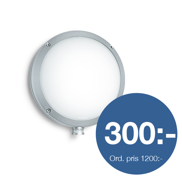 Sensorlampa L330, silver