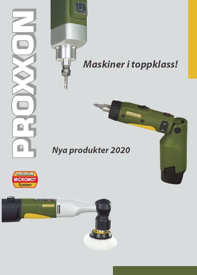 Proxxon - Nya produkter 2020