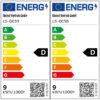 Energimärkning Sensorarmatur Connect R10 Plus