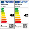 Energimärkning Sensorarmatur Connect R10 V2