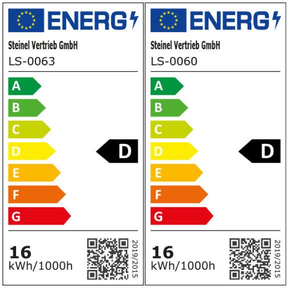 Energimärkning Sensorarmatur Connect R20 Plus