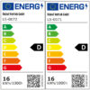 Energimärkning Sensorarmatur Connect R20 V2 kvadrat