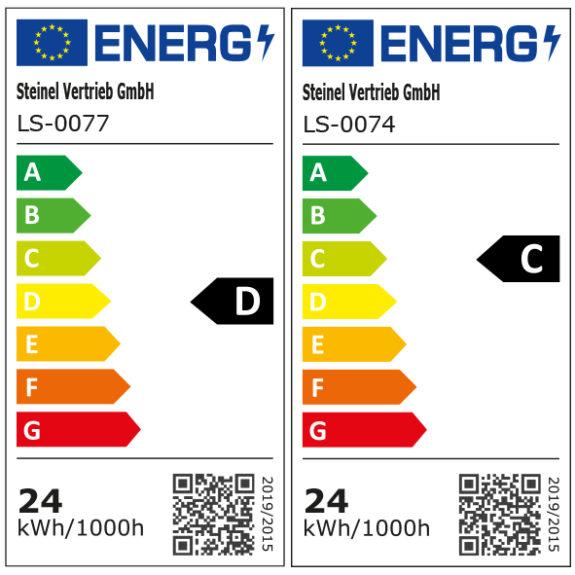Energimärkning Sensorarmatur Connect R30 V2