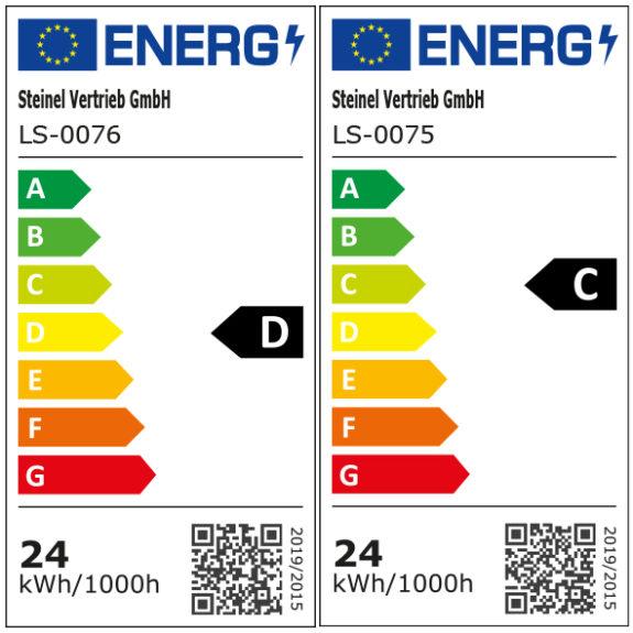 Energimärkning Sensorarmatur Connect R30 V2 kvadrat
