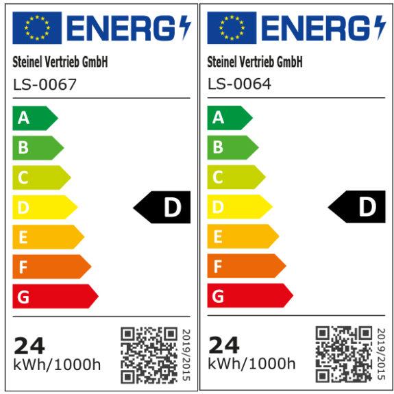 Energimärkning Sensorarmatur Connect R30 plus