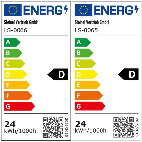 Energimärkning Sensorarmatur Connect R30 plus kvadrat