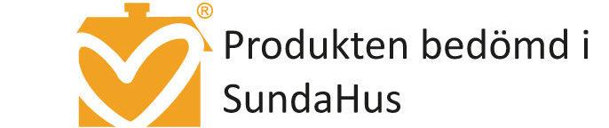 Produkten är bedömd i SundaHus