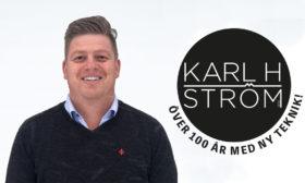 Urban Magnusson, försäljningschef hos Karl H Ström
