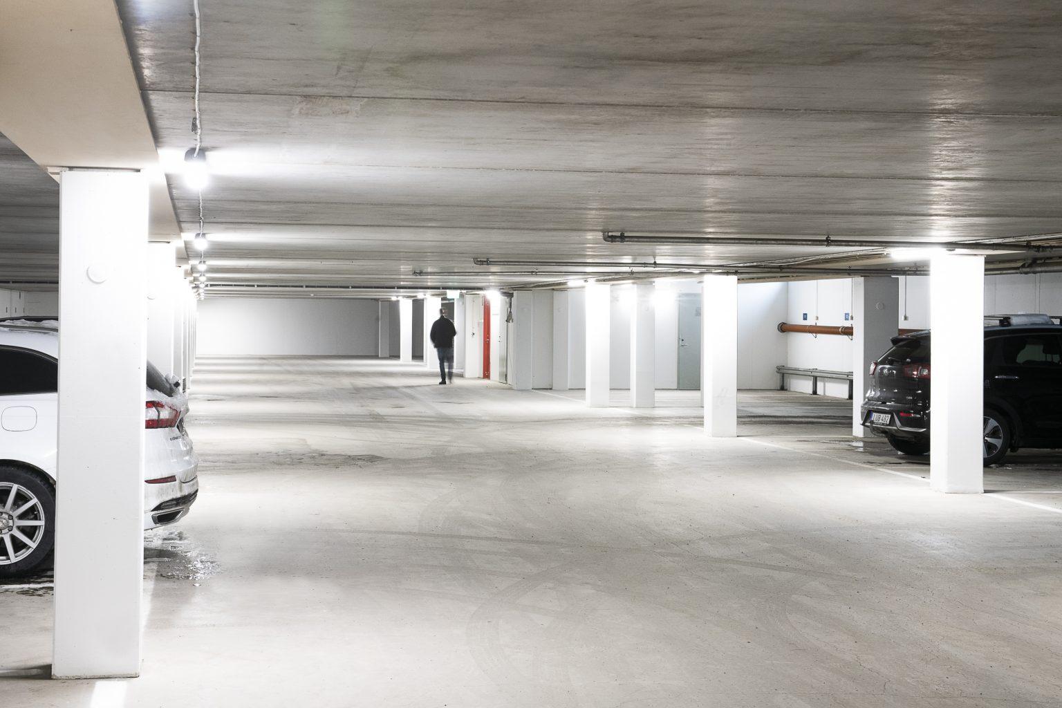 Värtahamnen garage
